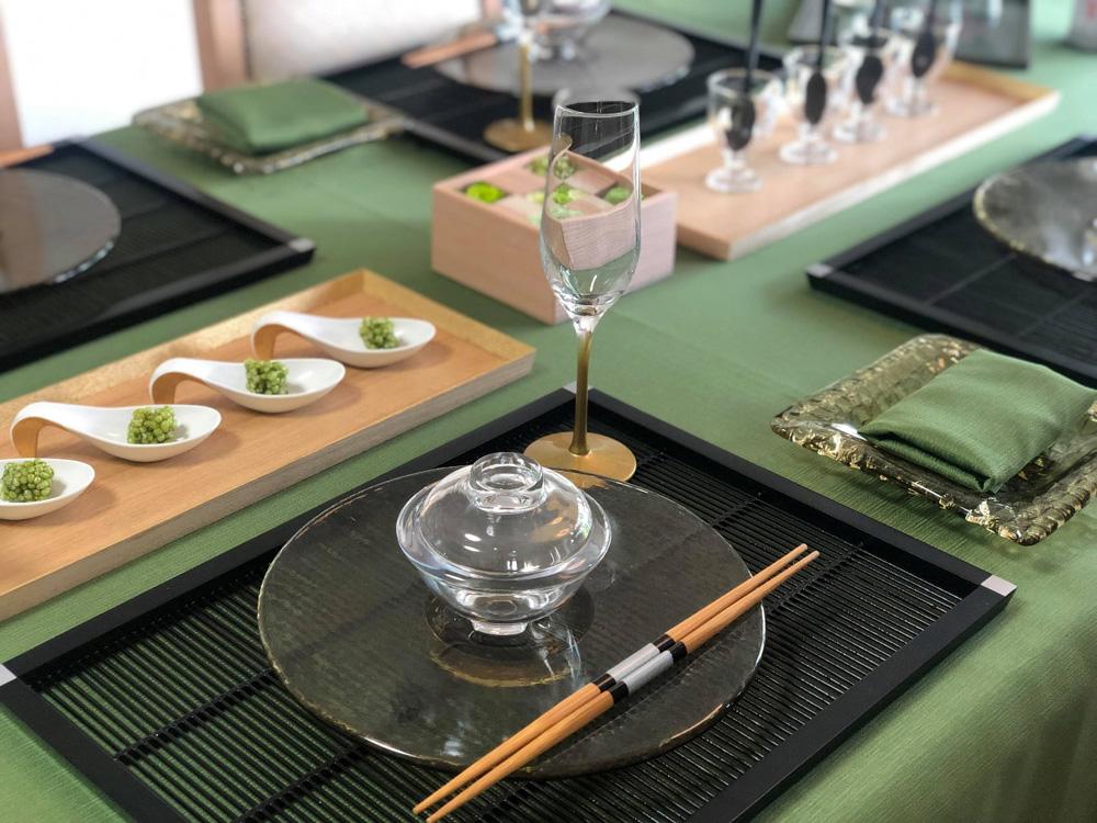 コーディネート テーブル